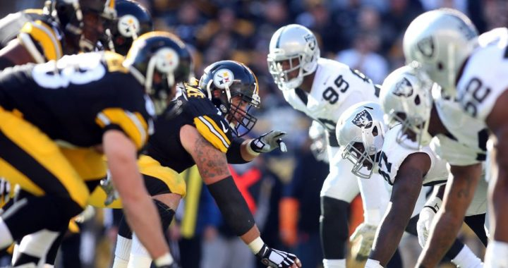 pittsburgh steelers vs oakland raiders