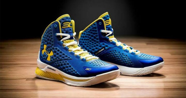 nba stars with own signature shoes stephen curry curry one by under armour