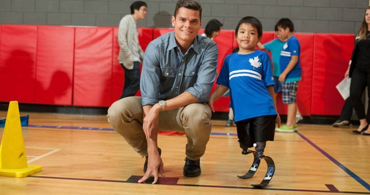 tennis players who started their own foundation milos raonic